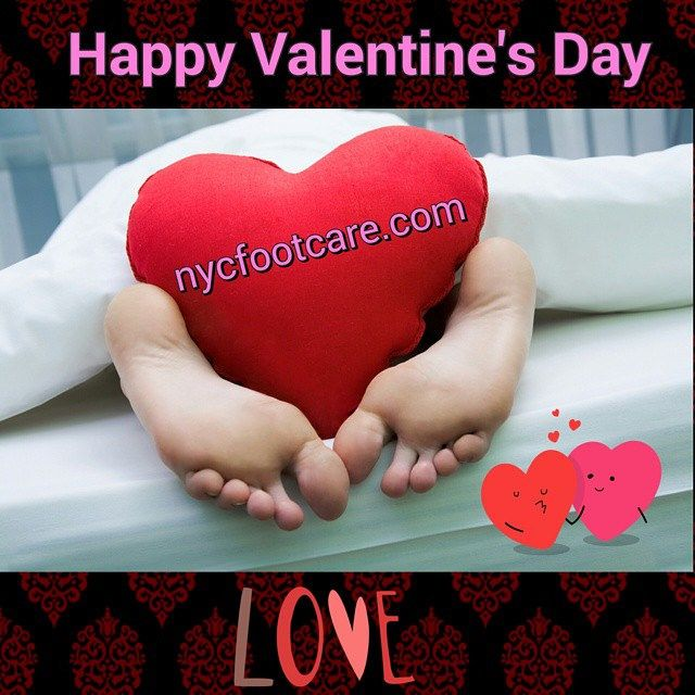 Wishing you and your special one a Happy Valentine's day from nycfootcare.  #valentine #valentinesday #nyc #ny #manhattan #bronx #queens #brooklyn #statenisland #love #feet #nba #nj #scary #bunions #democrat #republican #celebrities #help
