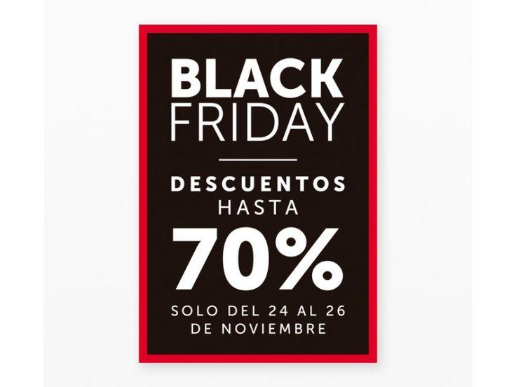 Cartel Black Friday 70%