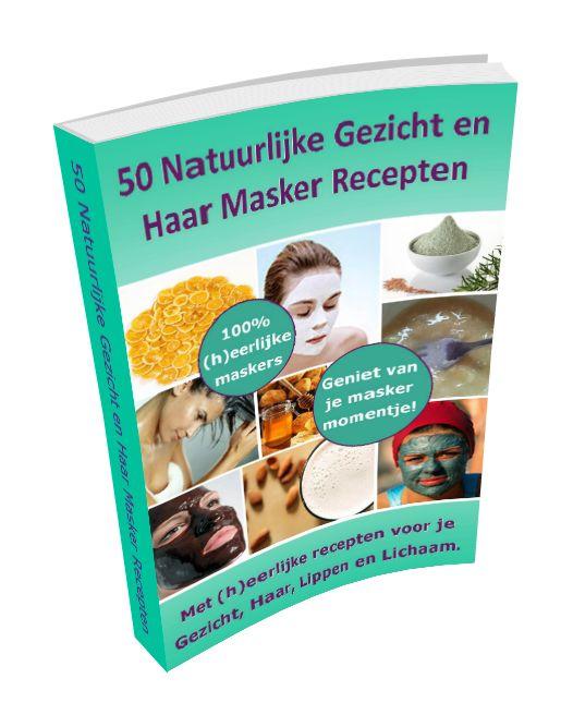 50 Natuurlijke Gezicht En Haar Masker Recepten