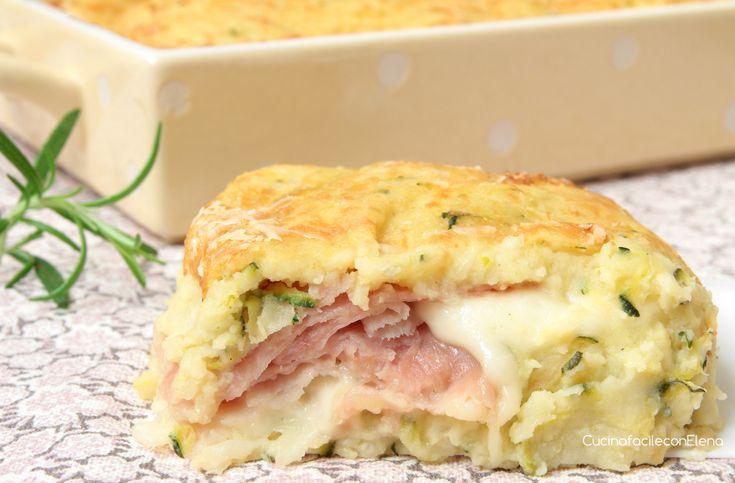 Il Gateau di Patate e Zucchine è un secondo super delizioso, semplicissimo e veloce da preparare che conquisterà tutti, anche i più piccoli ne vanno matti!!