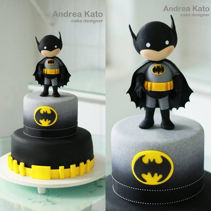 "167 Likes, 22 Comments - Andrea Kato Cake Designer (@askato) on Instagram: ""Batman"""