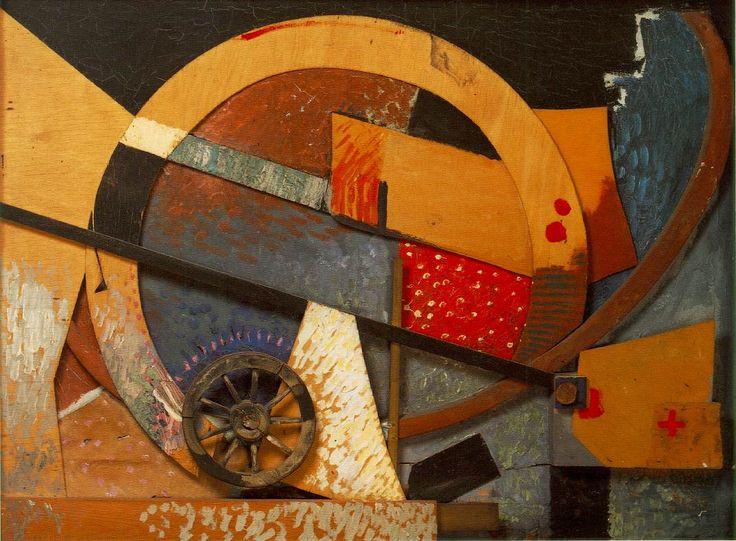 Kurt Schwitters New Merzpicture 1931
