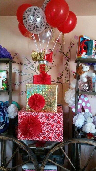 Decoracion de regalo sorpresa  Quinceañera! !!!! Hecho por Peke's Magic Creations