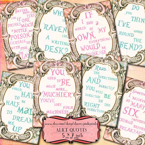 March Hare Quotes: 69 Best Alice In Wonderland Quotes Images On Pinterest
