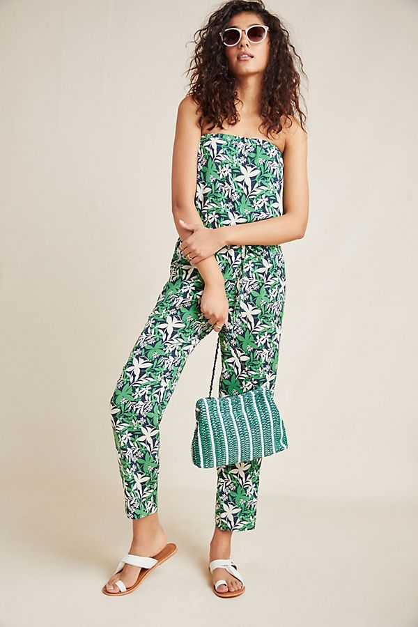 Loretta Strapless Jumpsuit by Velvet Graham & Spencer in Assorted Size: Xs, Women's Jumpsuits at Anthropologie