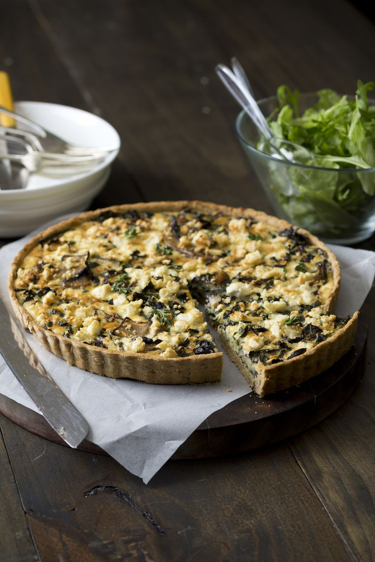 Silverbeet Quiche with Oat and Parmesan Crust | Everyday Cooking for Thermomix Families