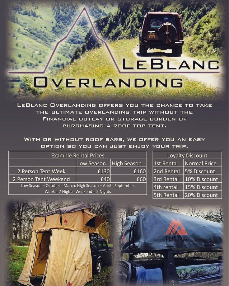 Wanting to take a tour abroad but don't want the finical burden of buying a roof tent. Then look now further than LeBlanc Overlanding. Great idea from a new company @planetary4x4 #allterrainodyssey #ATO #4x4 #4wd #4x4tours #overland #offroad #expedition #explore #landrover #landroveruk #landroverseries #landroverdefender #landroverdiscovery #300tdi #rangerover #landcruiser #spain  #pyrenees #andorra #rooftent #nissan#toyota#jeepuk #adventure #greenlaning #payandplay…