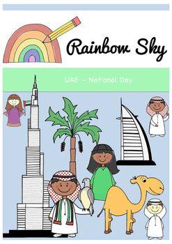 60 graphics in total •4 boys with falcon •4 boys with UAE scarves •4 boys waving •4 boys with UAE flags •7 boys standing (2 styles) •2 girls standing •2 girls waving •2 girls with UAE flags •4 girls in UAE flag dresses •1 date palm tree •1 palm tree •Burj Khalifa •Burj al Arab •1 girl camel with UAE flag •1 boy camel with UAE flag •1 girl camel •1 boy camel •1 boy camel dressed up •1 girl camel dressed up  All graphic are .PNG files at 300 dpi transparent backgrounds.