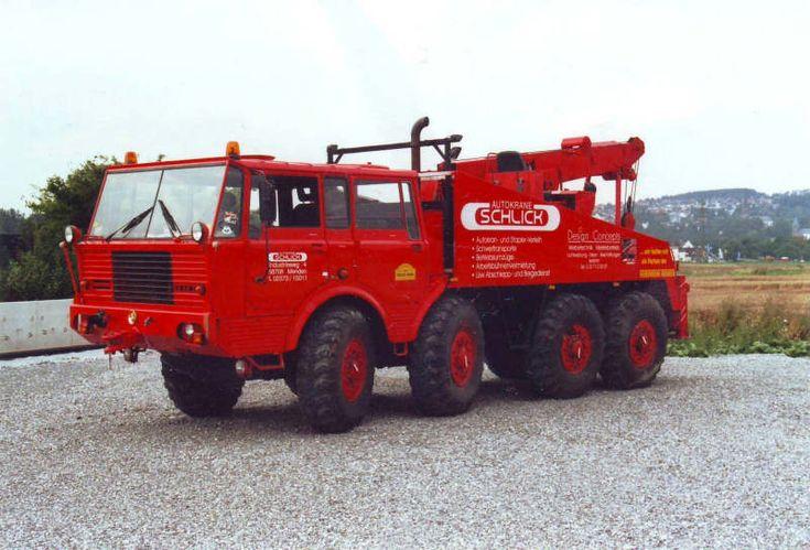 TATRA  8X8 -  Truck