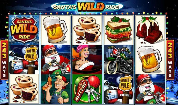 Slot machine Santa's Wild Ride, un assaggio di Natale da Voglia di Vincere, il Casinò Online Italiano per eccellenza!