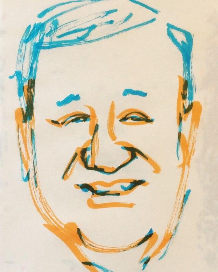 いいね!23件、コメント1件 ― @1mindrawのInstagramアカウント: 「#kandagawatoshirou #神田川俊郎 #cook #料理人 #japanesefood #日本料理 #19391115 #birthday #1mindraw #一分描画 #誕生日…」