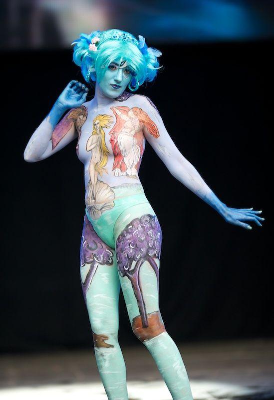 Pintura corporal corporal para adultos