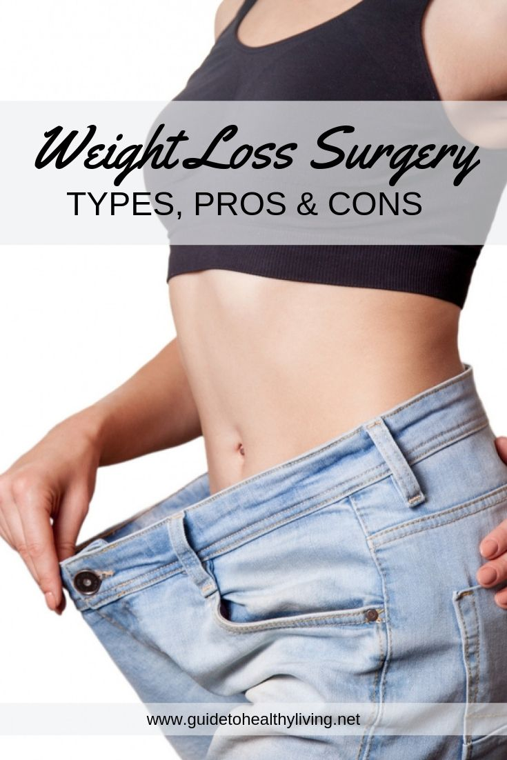 Weight Loss Surgery Types Pros Cons Guide To Healthy Living