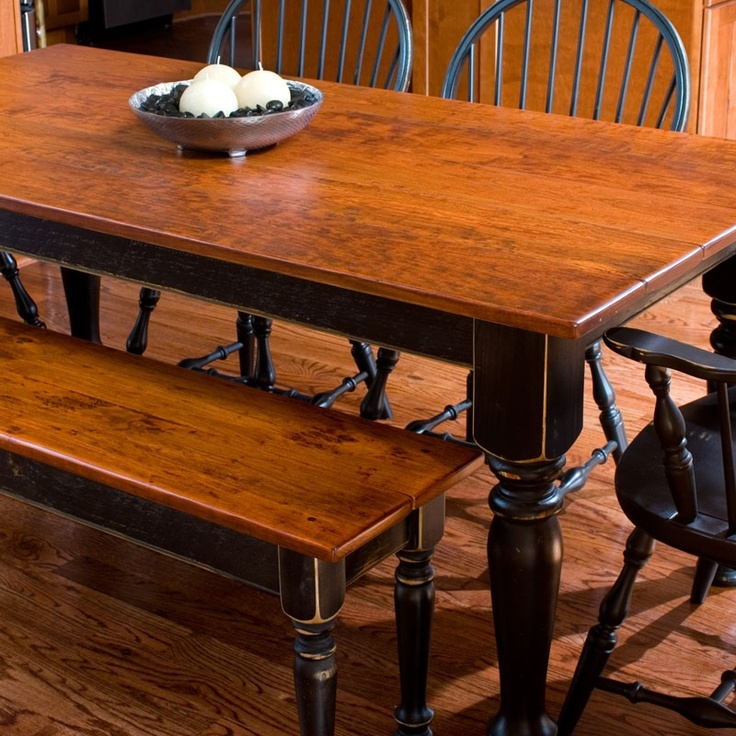 Kitchen Tables With Benches And Chairs Table Wood: 1000+ Ideas About Cherry Wood Furniture On Pinterest