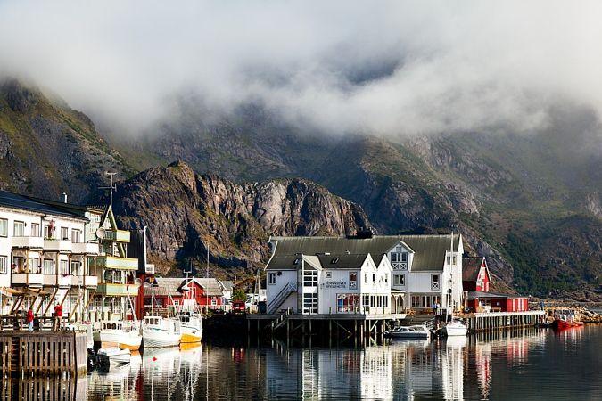 Norway – Henningsvaer Bryggehotel #2 by Fabrizio Fenoglio