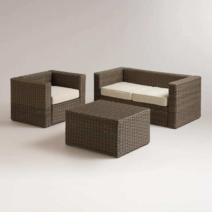 Marvelous Outdoor Furniture World Market #14: Formentera Outdoor Occasional Collection World Market Outdoor
