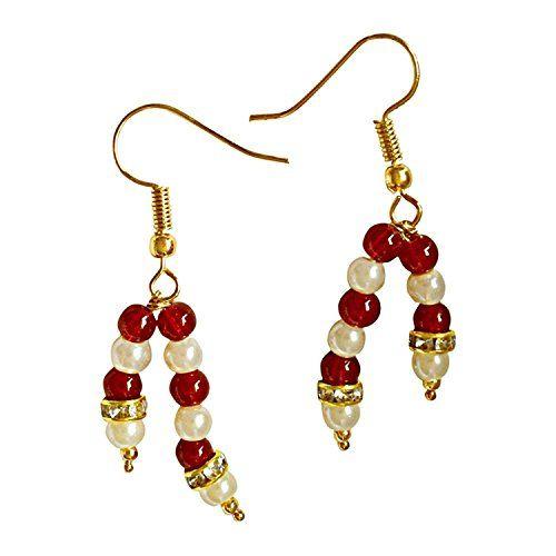 Dazzling Casual Wear Indian Two Line Red Pearls White She... https://www.amazon.com/dp/B06XQVTXP1/ref=cm_sw_r_pi_dp_x_Rqq0yb4SEQ766