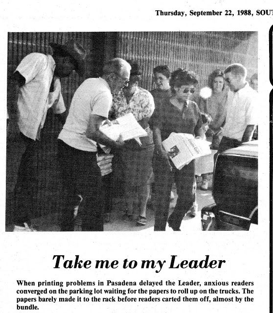 South Belt Houston Digital History Archive: Take Me to My Leader: Paper Hysteria