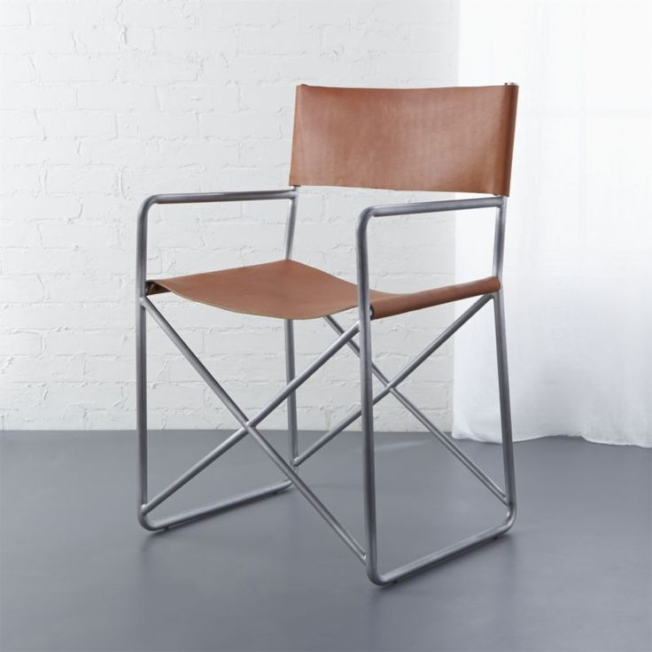 Shop Leather Directoru0027s Chair. An Ode To The Iconic Directoru0027s Chair, Soft  Leather Takes