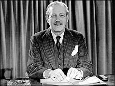 Harold Macmillan introduces Premium Bonds in the budget. The first winner was Ronnie Butters, a Halifax railway shunter.