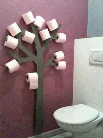 "Effective use of space  ......."""" Cassia's Blog """": Porta papel higienico"