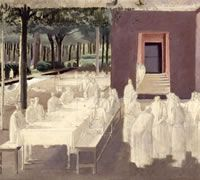 Study for the Marriage at Cana, circa 1923 by Winifred Knights