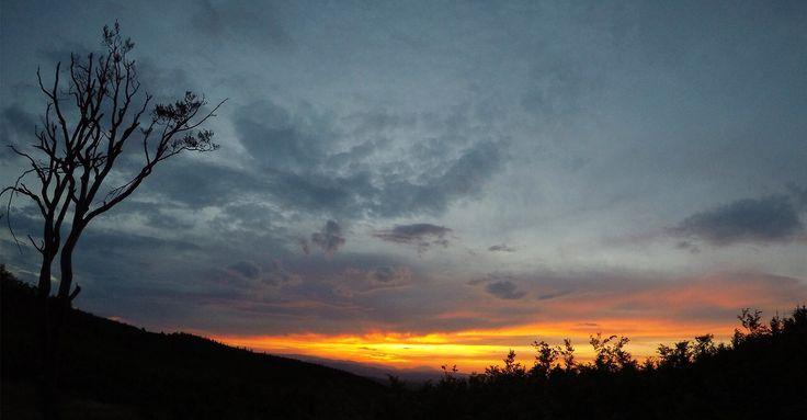 Naplemente a kőszegi hegyről nézve. #kőszeg #naplemente #koszegvendeghaz