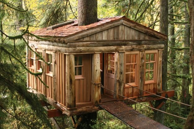 Treehouse Point in Washington.