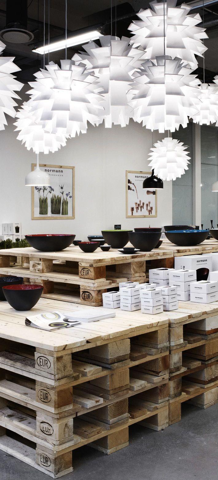 Pallets as furniture, #retail