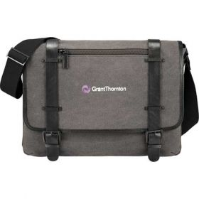 Promotional Products Ideas That Work: Kenneth Cole Canvas Compu-Messenger. Get yours at www.luscangroup.com