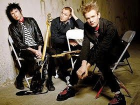 Chord Gitar, Lirik Lagu Dan Download Mp3: Lirik lagu Sum41 - Machine gun