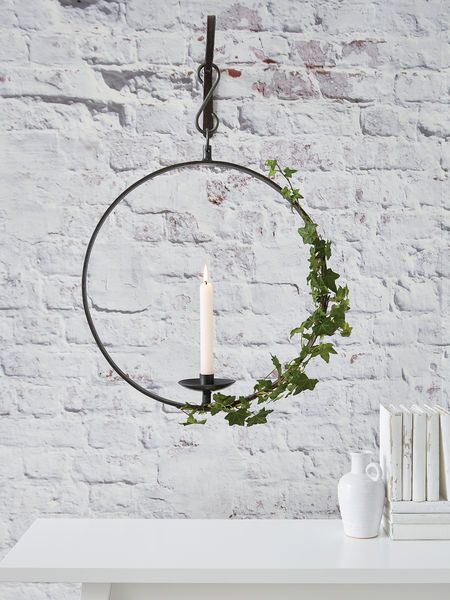 hanging wrought iron candle holder - Wrought Iron Chandelier