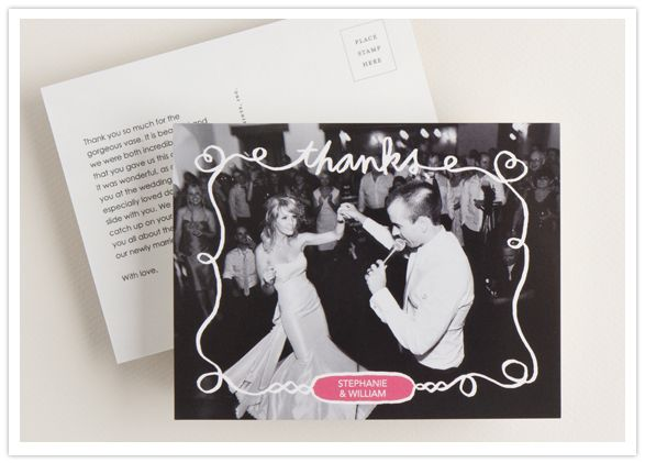 17 Best images about Thank You – Wedding Paper Divas Thank You Cards
