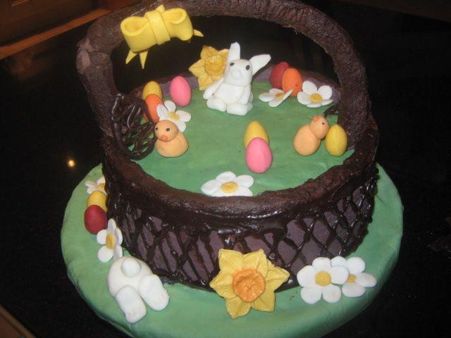 My Easter Basket  cake