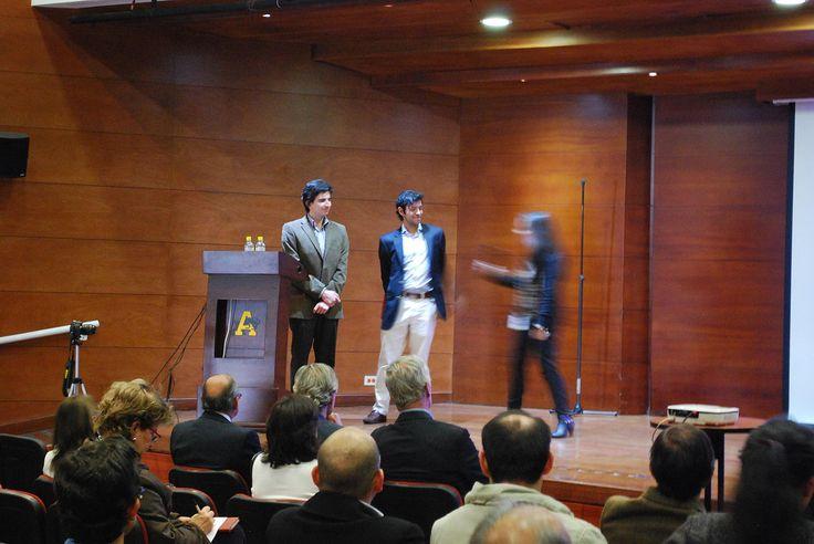 Javier Silva, Santiago Restrepo, Business life, Conferencia Gunter Pauli