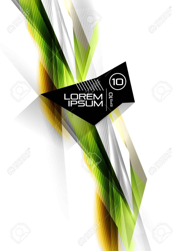 Hi-tech colorful futuristic lines isolated on white. For business technology backgrounds, banners, presentations, infographics. , #sponsored, #lines, …