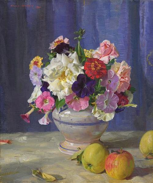 Hans Heysen  A Cottage Bunch 1930*