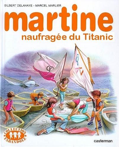 Martine naufragée du Titanic