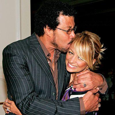 Lionel and Nicole Richie