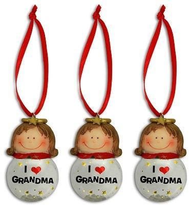 Grandma Angel Ornaments (One Dozen)