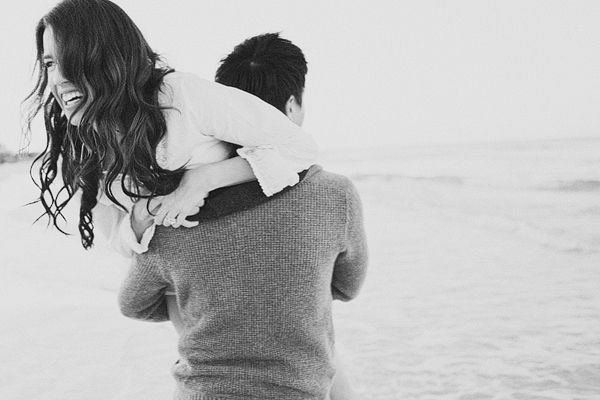 Engagement photo by Yeng Lor Photography #wedding #beach