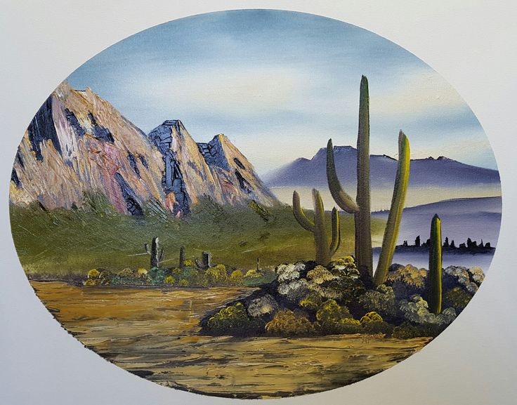Rozanna A. McConnell oil paintings. Certified Bob Ross landscape oil painting instructor.
