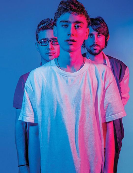 "Years & Years. Electrical vibes and a colorful soul is what wakes my mind. Thank you Years and Years. Listening to: ""Eyes Shut"""