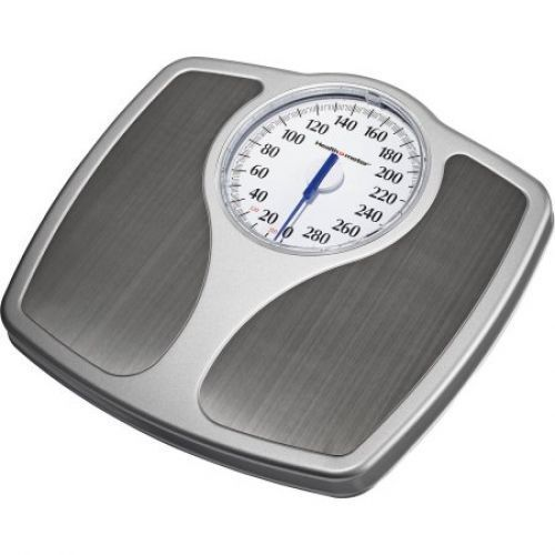 Dial Body Weight Scale Bathroom Stainless Steel 330lb Home Large Numbers NEW #DialBodyWeightScale