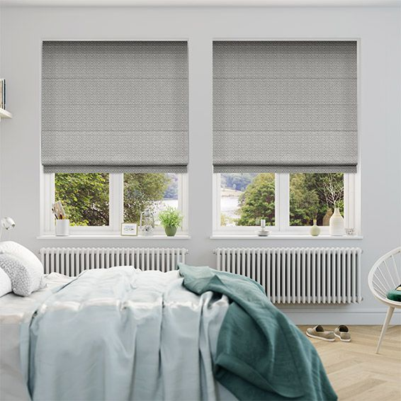 Berber Warm Grey Roman Blind from Blinds 2go