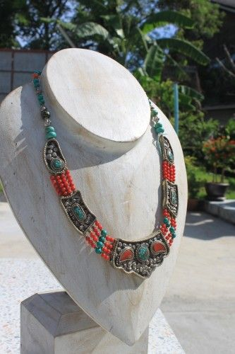 Nepalese handmade necklace | bowtiful - Jewelry on ArtFire
