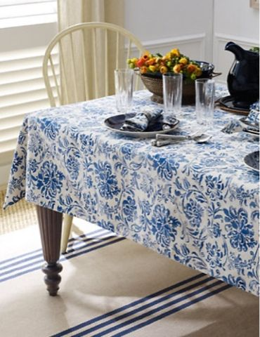 Ralph Lauren Floral Tablecloth| Chintz Tablecloth