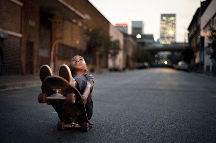 Maboneng Skate.   Photo Credit: Jonathan Pinkhard