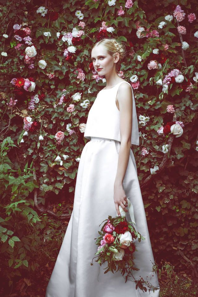 Honor for Stone Fox Bride. See all the best looks from Fall 2015 Bridal Week here.
