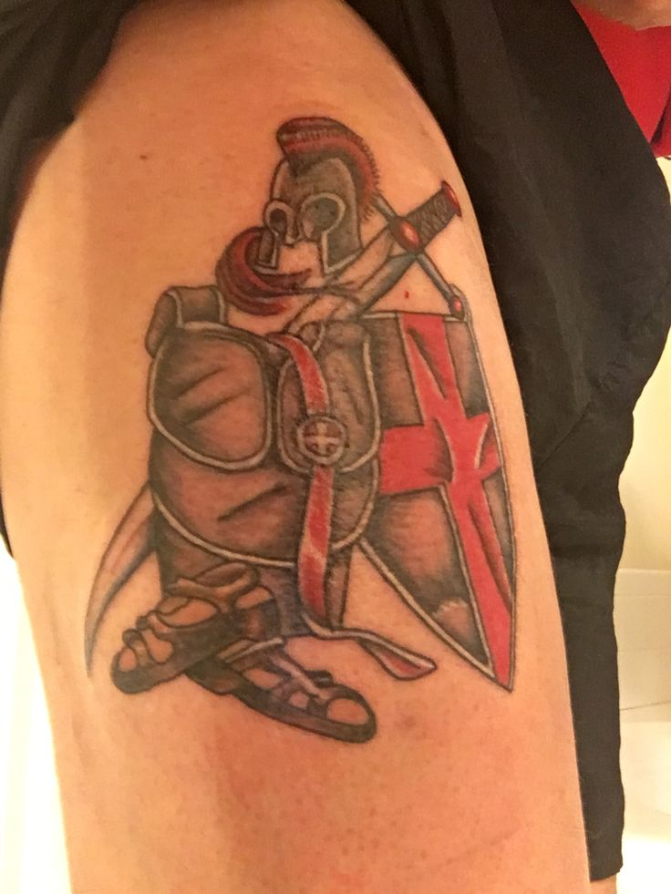 Armor of God tattoo- 4/30/16